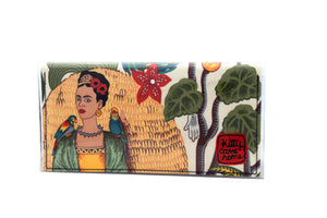 Bi-fold Plus - Frida with parrots