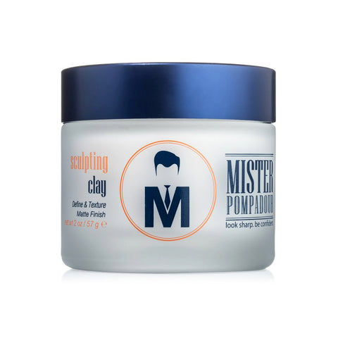 Mister Pompadour - Sculpting Clay