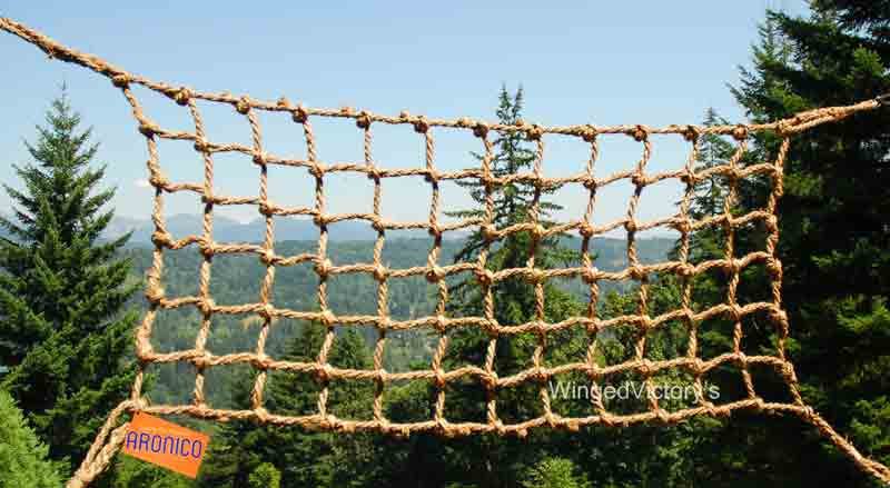 Bird Climbing Net by Aronico Large Short