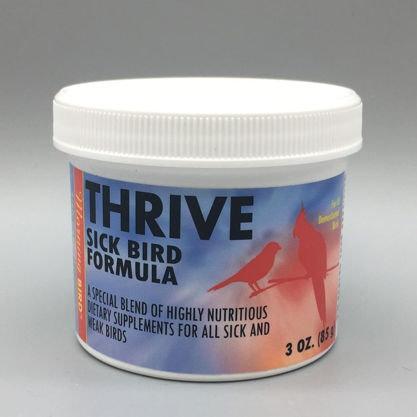 Morning Bird Thrive Feather Picking Dry Skin Sick Parrot Formula