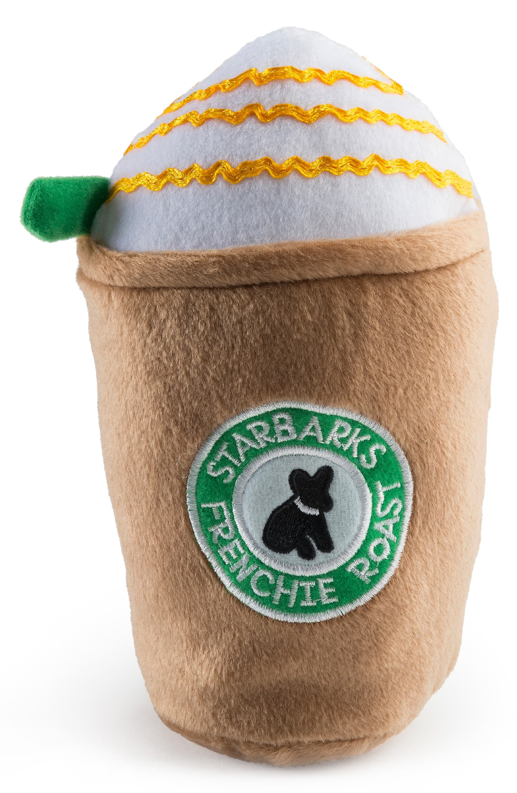 Haute Diggity Dog STARBARKS Coffee Small Plush Dog Toy