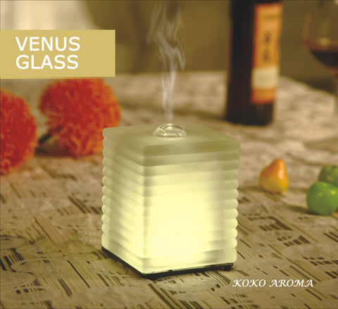 Venus Glass Essential Oil Diffuser 60ml