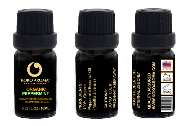 Organic Japanese Peppermint Essential Oil