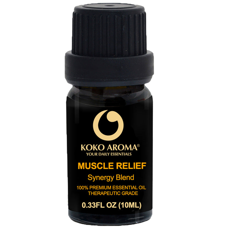 Muscle Relief Synergy Blends