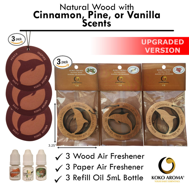 Air Freshener - Cinnamon Pine Vanilla Bundle