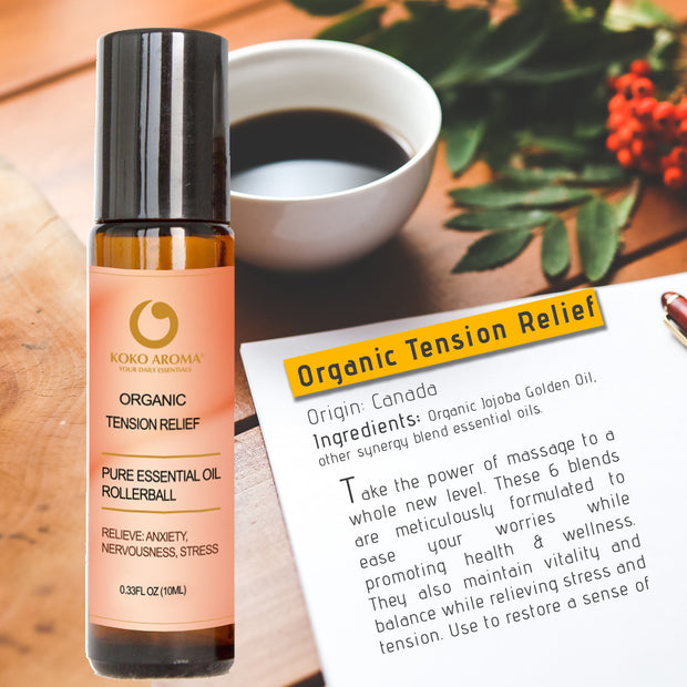 Organic Tension Relief Rollerball