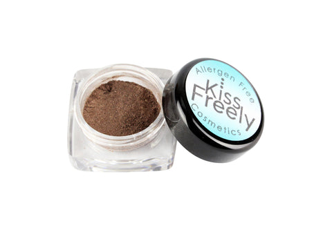 Deep Brown Eye Shadow - Kiss Freely