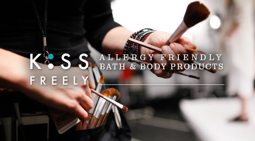 kiss freely allergy friendly bath & body products