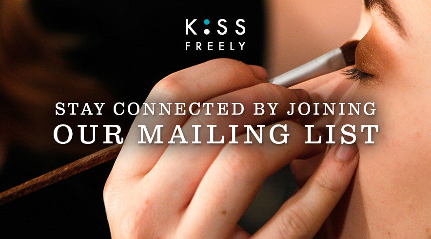 stay connected by joing our mailing list