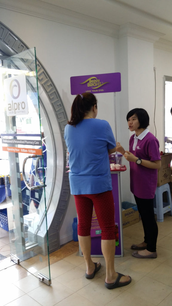Event: Sampling @ Alpro Pharmacy
