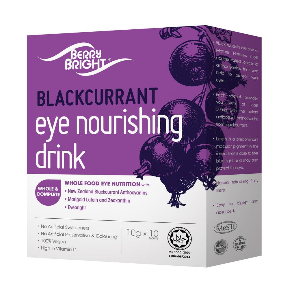 BerryBright<sup>®</sup> Eye Nourishing Drink 10s <small>10g x 10s</small> - Euryka Naturopathics