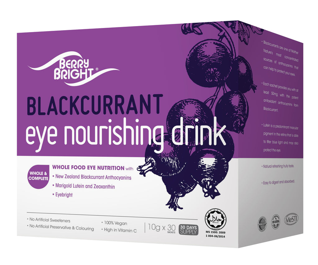 BerryBright<sup>®</sup> Eye Nourishing Drink 30s <small>10g x 30s</small> - Euryka Naturopathics