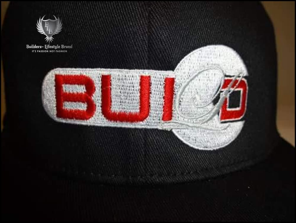 B.u.I.l.d.e.r.z (Black Flexfit Red/silver Wrench)