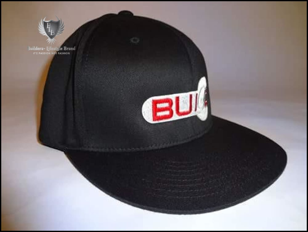 B.u.i.l.d.e.r.z (Black Flexfit Red/silver Wrench) Hats