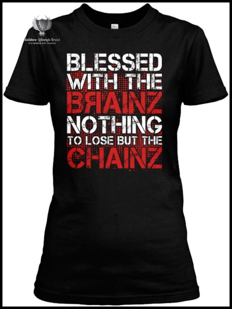 Builderz-Blessed With Tha Brainz (Boss Ladies) Clothing