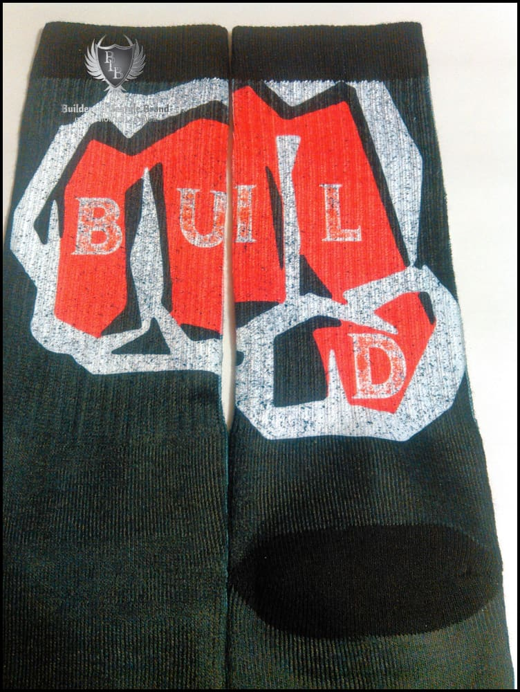 Builderz - Bossed-Up Socks (3Rd Eye Grindz) Clothing