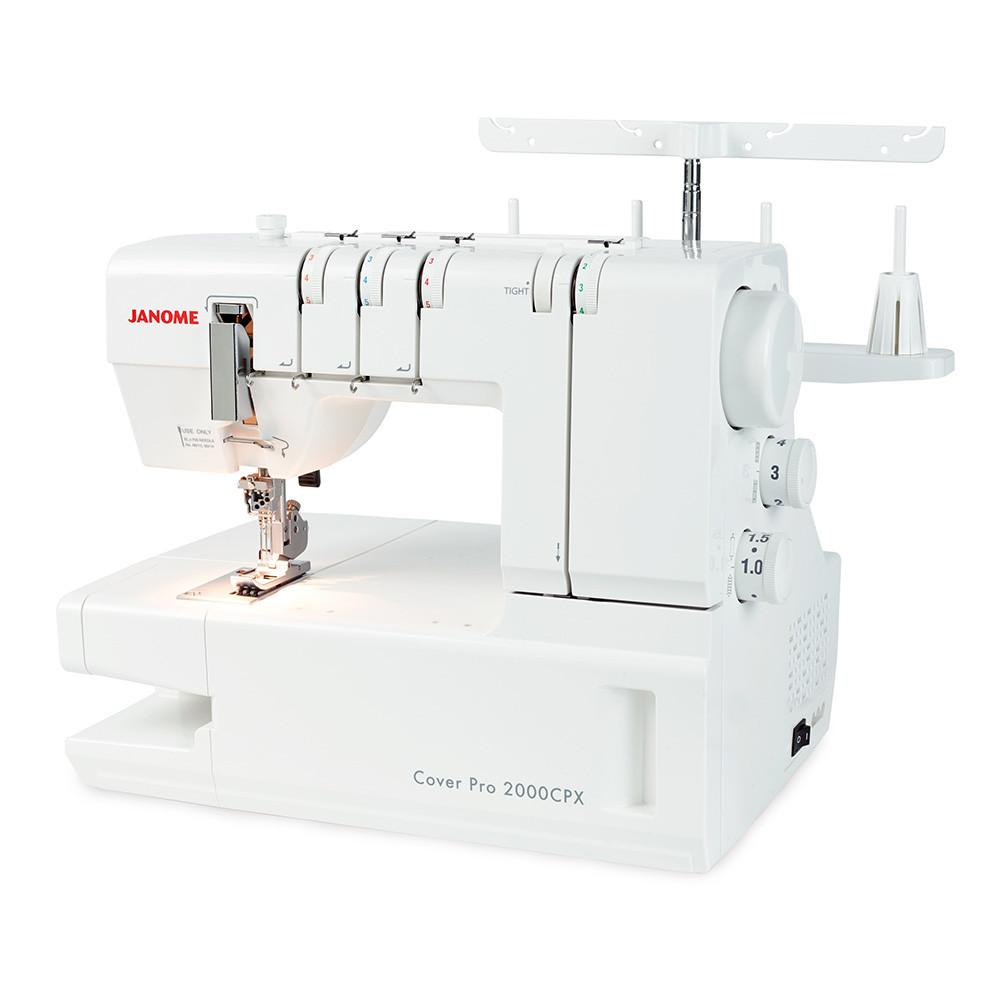 The Janome CoverPro 2000CPX – The Best Coverstitch Machine of Its Range.
