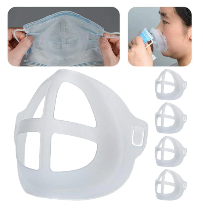 Breathable Mask Bracket - Enhance Breathing Space Mask Nose Pad www.Sewing.sg