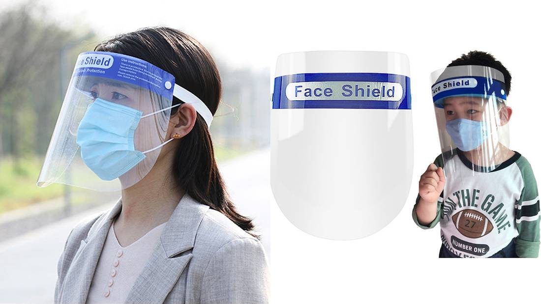 Face Shield - Additional Face Mask Protection www.Sewing.sg