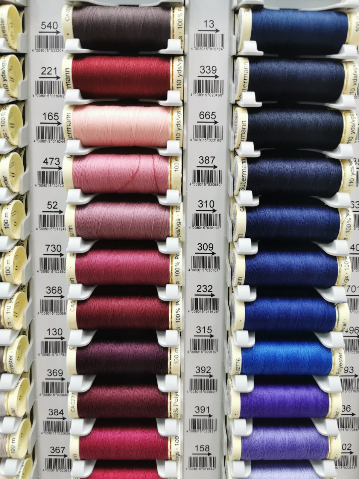 Gutermann Creativ Premium Quality 100% Sew - All Sewing Threads