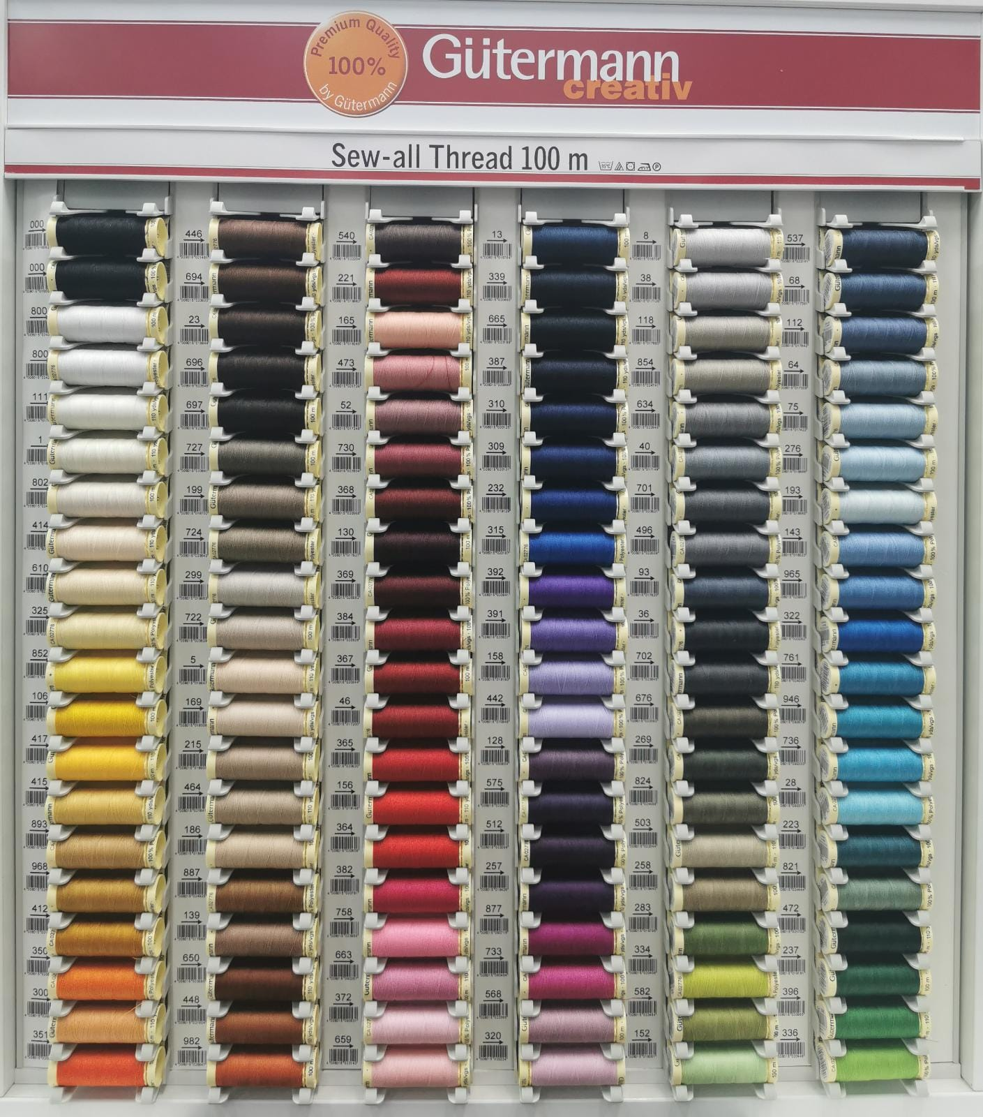 Gutermann Creativ Premium Quality 100% Sew - All Sewing Threads  at www.Sewing.sg