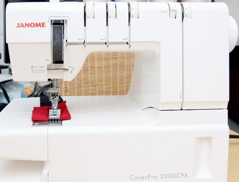Janome Coverpro 2000CPX - Best Coverstitch Machine for Professional and Hobbyist