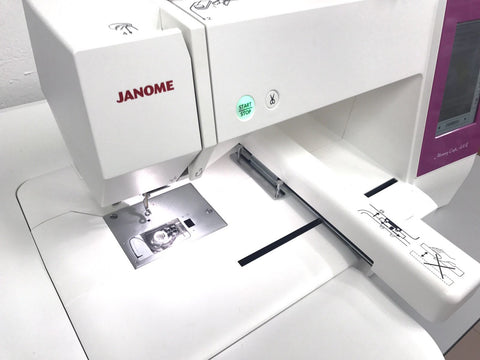 Janome MC450E Drop in bobbin with clear view