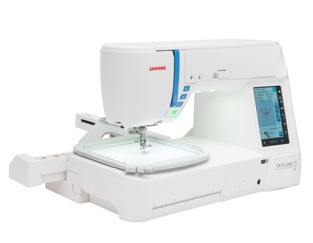 Janome Skyline S9 embroidery