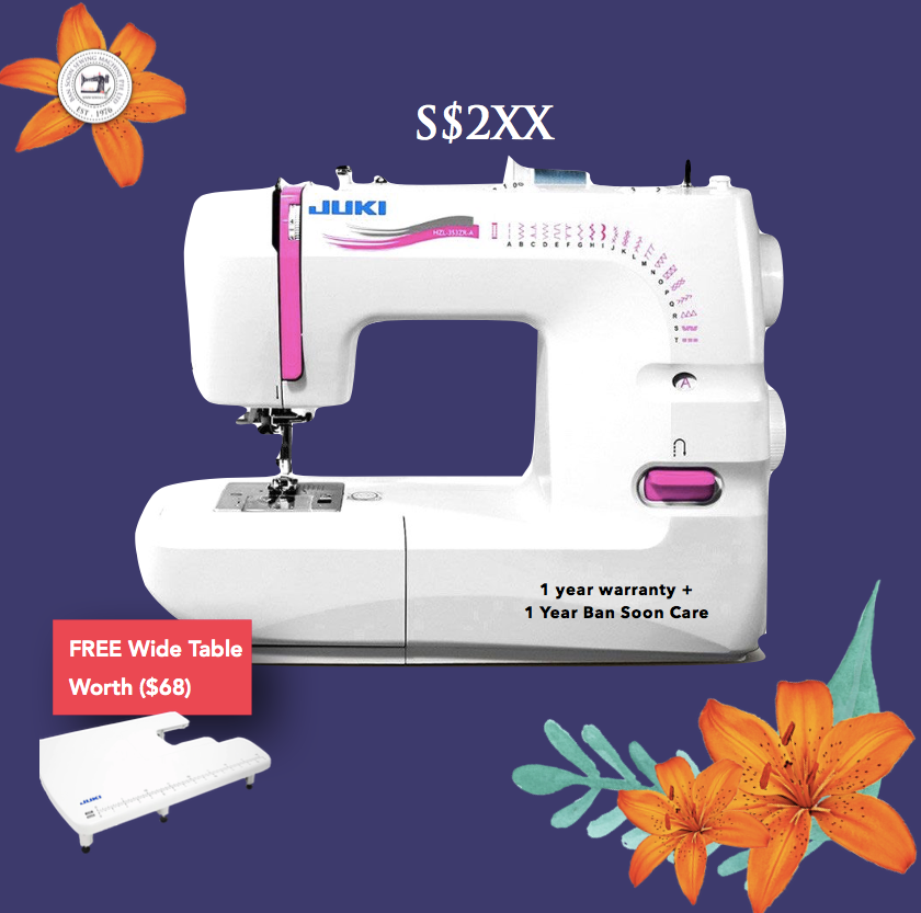 Juki HZL353Z OFFER ! www.Sewing.sg/May
