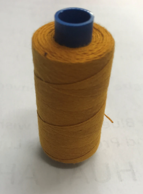 Mustard Orange Sewing Threads (for Jeans) www.Sewing.sg