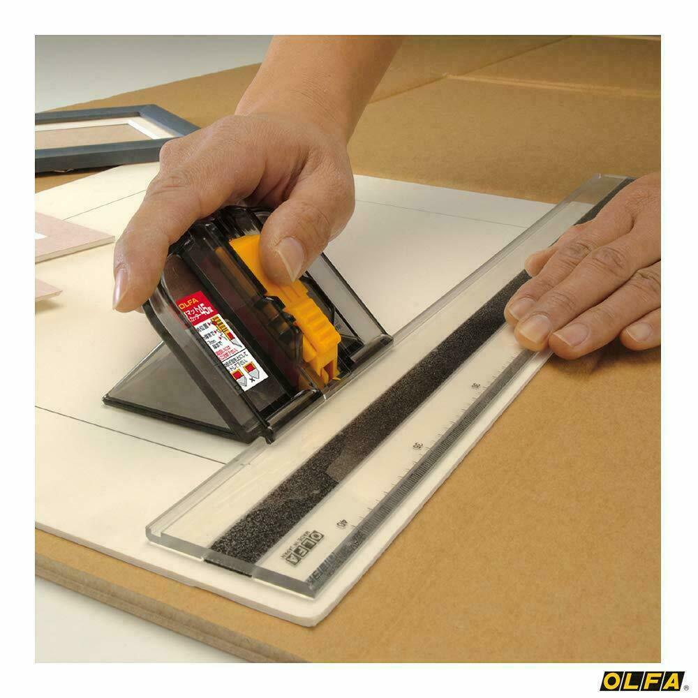 Olfa MC45 197B Safety Mat Cutter 45 Degrees Cutting Guide Ruler Made in Japan www.Sewing.sg