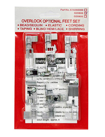 Overlock Optional Feet Set