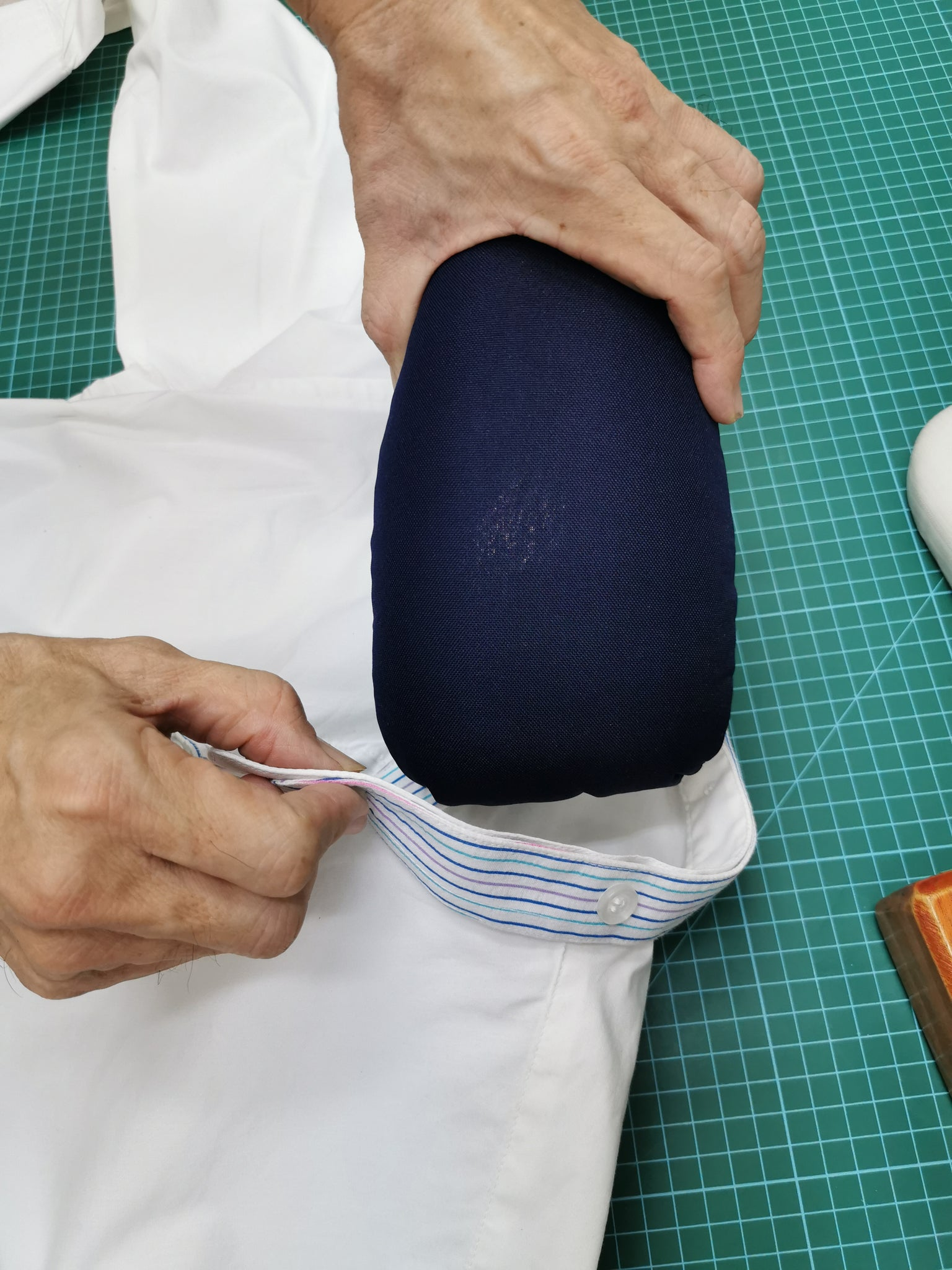 Tailors Pressing Ham  Dressmaking www.Sewing.sg