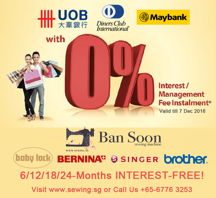 Best Way to Invest in Good Value Machine - Interest Free Instalment Plan with UOB, Maybank, Dinersclub