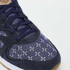Sashiko Geometry Sewing Machine on Shoe