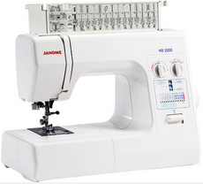 Janome HD2200 - Heavy Duty Sewing Machine [TOP Choice by Sewists]