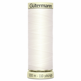 Col. 111 Gutermann Sew All Thread 100m Premium Quality 100% - Bridal White
