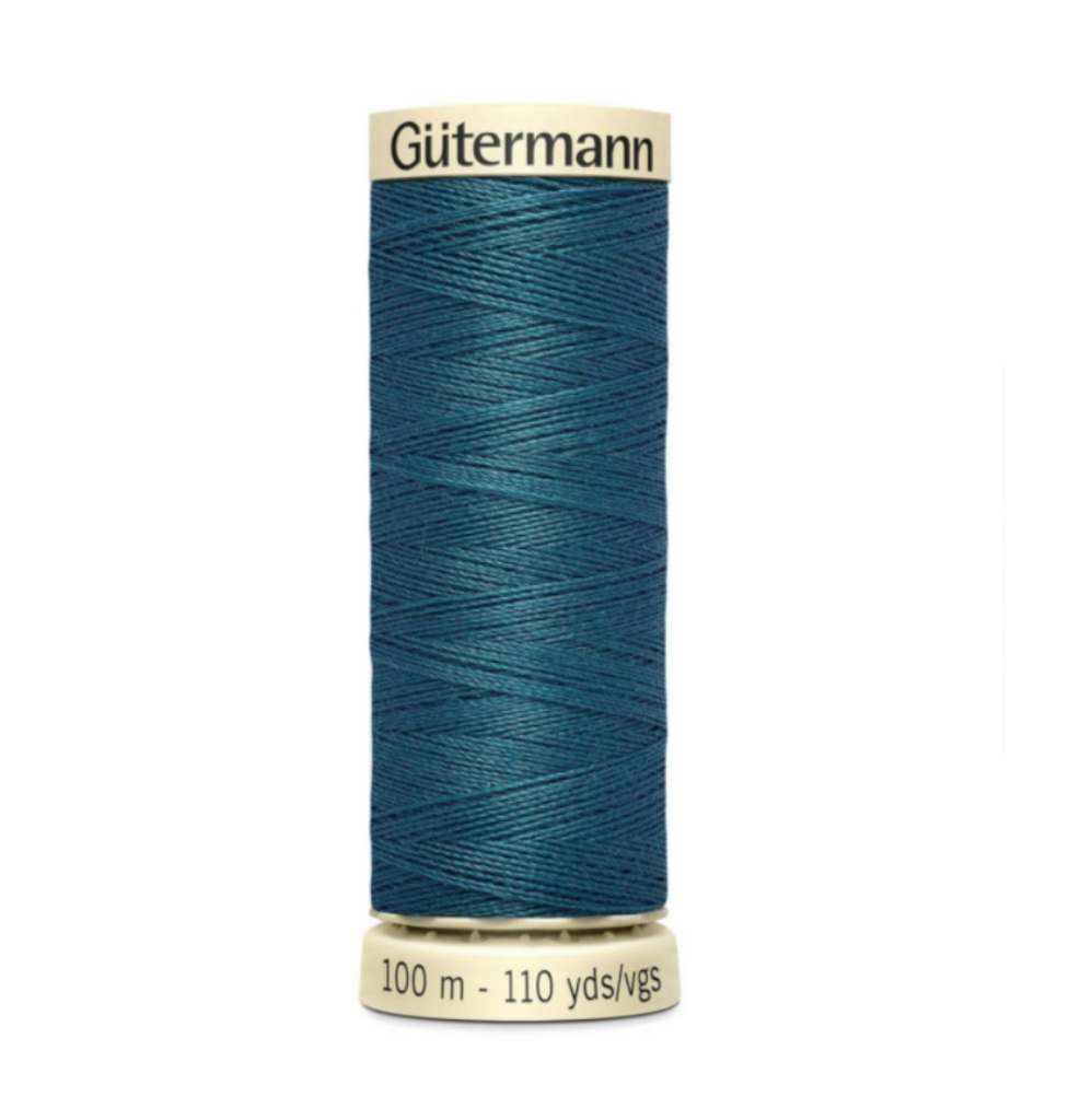 Col. 223 Gutermann Sew All Thread 100m Premium Quality 100% -Aegean Blue