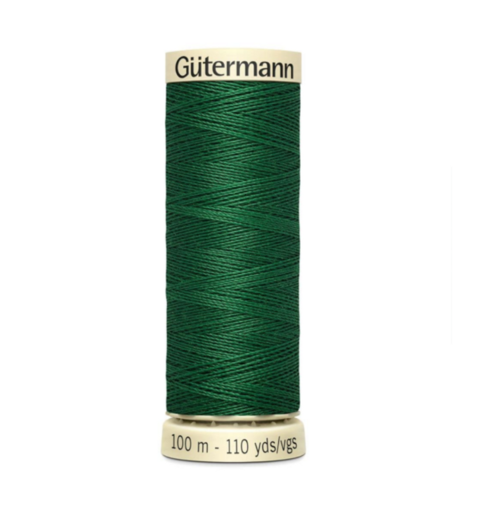 Col. 237 Gutermann Sew All Thread 100m Premium Quality 100% -Forest Green