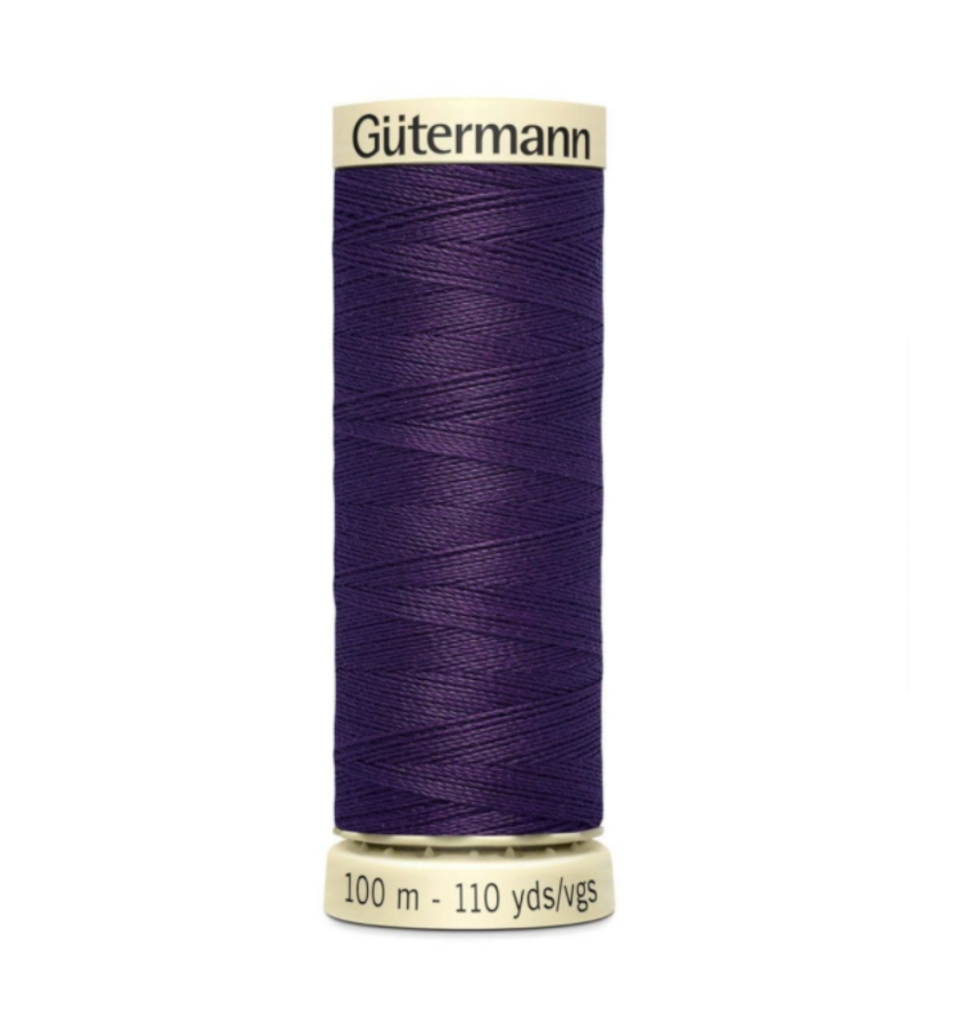 Col. 257 Gutermann Sew All Thread 100m Premium Quality 100% -Grape Purple