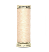 Col. 414 Gutermann Sew All Thread 100m Premium Quality 100% - Beige