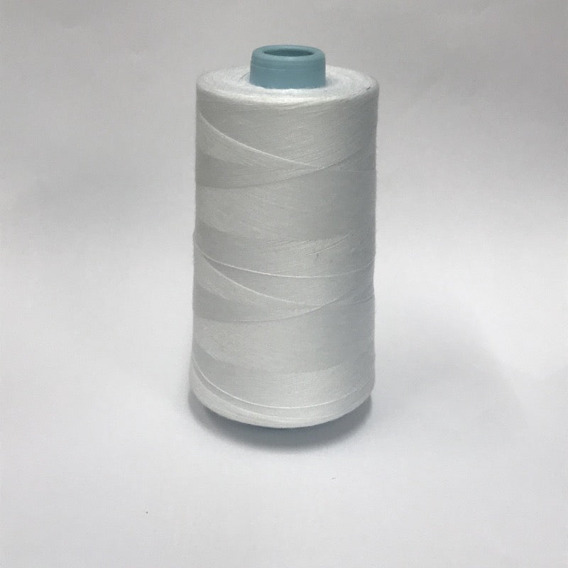 Sewing Thread Size #120, 100% Polyester (5000 yards), perfect for a stronger seam in terms of cost, and finishing. Widely use in Face Mask stitching
