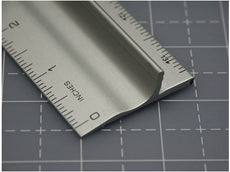 Stainless Steel Edge Safety Ruler & Cutting Ruler for Straight Rotary Cutting & Pinking Rotary Cutting BEST TOOLS OF THE YEAR