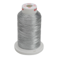 Gunold Sewing & Embroidery Threads - METY 5/2 - 7009 Silver / Pewter Metallic Threads