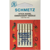 Schmetz Embroidery Needles - Sewing Needles | Sewing Machine Singapore - Sewing.sg