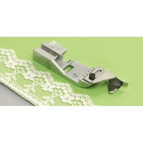 Lace Applicator Foot for Coverstitch