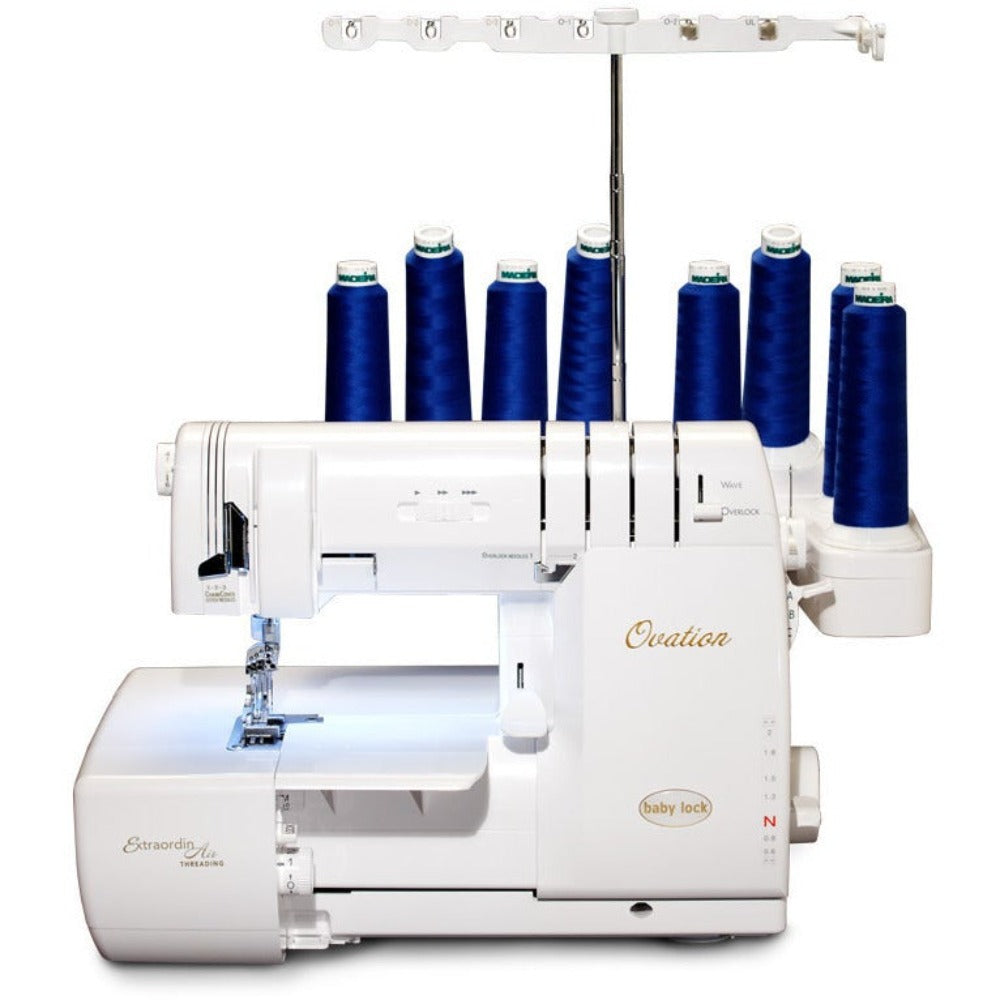Babylock Ovation (Fully Automatic Serger + Coverstitch) - BLES8. Overlock