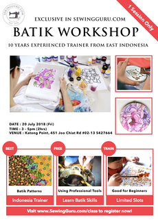 EXCLUSIVE : Batik Workshop