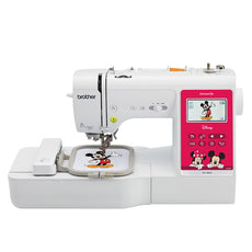 Brother sewing machine NV180D, 3 in 1 Combo Model, Sewing + Disney character Embroidery + Quilting. 2 years Warranty, Touch feel then purchase at Clementi + FREE BanSoon Care