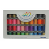 Brother Embroidery Threads - 40 Colors - Sewing Accessories | Sewing Machine Singapore - Sewing.sg